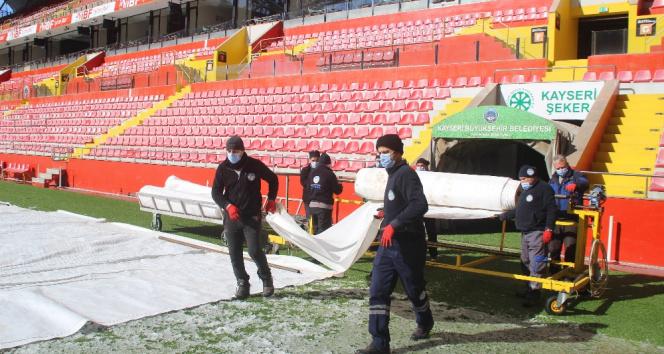 Kadir Has Stadı, Galatasaray maçına hazırlanıyor