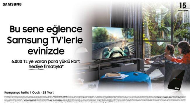 Samsung TV'lerde kampanya uzadı