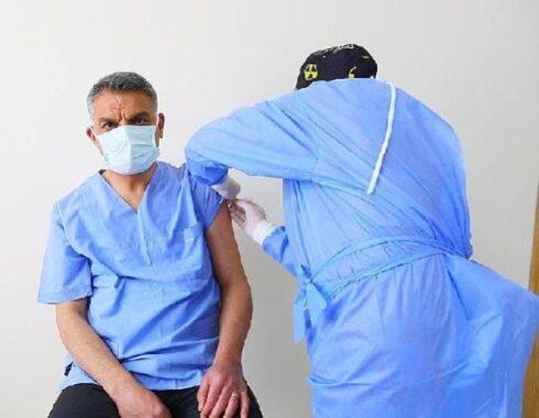 Son dakika haber! Tunceli protokolü, ikinci doz aşıyı oldu